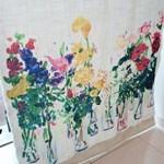 Water flower Curtain