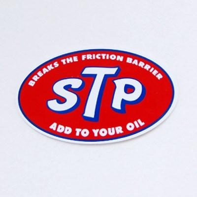레이싱 스티커-STP logo