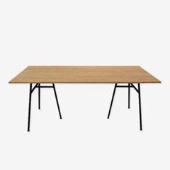 [내추럴하우스] 스틸러 1800mm 철제 테이블