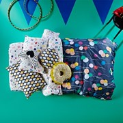[SACK ME!] UP, UP & AWAY REVERSIBLE QUILT COVER (Single)
