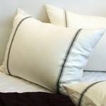 Linen Pillow Cover 린넨 베개커버- Navy