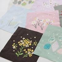NS/ 1마/ 원포인트] 스프링 힐링_ Melody of spring 21 patch linen