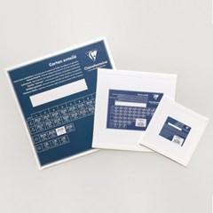 [클레르퐁텐] 보드캔버스 정사각형 / 크기선택
