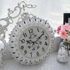 실버주물양면시계(초롱꽃)
