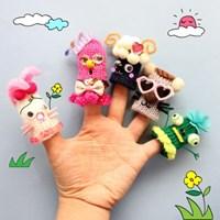 손가락 동물인형