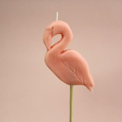 Animal Party Candle - 플라밍고