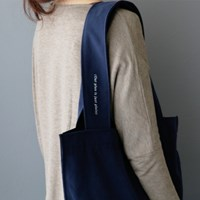 plain bag _navy