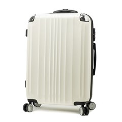 [EDDAS]에다스 EP-305 25사이즈 화이트 수화물용 캐리어 여행가방