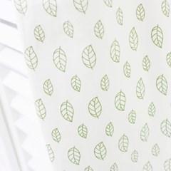 나뭇잎비 데코커튼