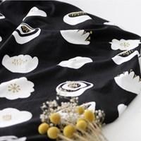 NSCR/ 1마/ 감성북유럽]  Night Flower Pattern cotton