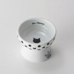 네코이찌 간식그릇 - 물방울무늬
