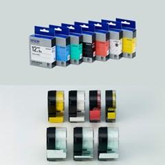 정품 엡손 라벨테이프 18mm (컬러선택)