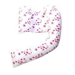 영국 드림지니 바디필로우 핑크세트(필로우+화이트커버+핑크커버)