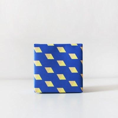 주판알 블루 포장지