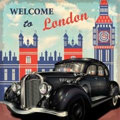 [엘름] 캔버스디자인- 런던 올드카