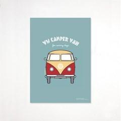 (전구증정) VW 캠퍼 벤 포스터