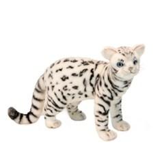 6352 벵갈고양이 동물인형(White)/45cm.L