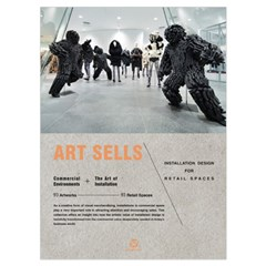 Art Sells - installation design for retail spaces