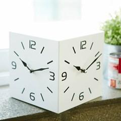 저소음 삼면벽시계