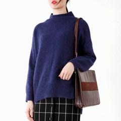 turtle angora knit top