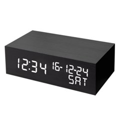 HICKIES 소리에 반응하는 원목스타일 LED 시계 ZEN8