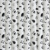 [Fabric]charming Panda pattern cotton 5cm Line_Quilting