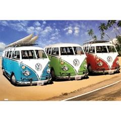 159896 폭스바겐 버스 캘리포니아 서퍼 비치