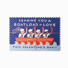 Boatload of Love Postcards