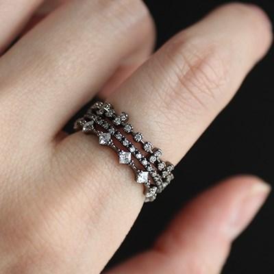 블랙 피에로 3타입 반지(3types)black pierrot 3type ring