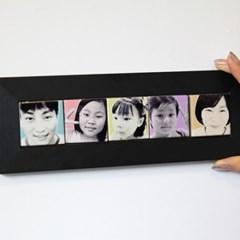 팝아트 5구 미니타일 액자