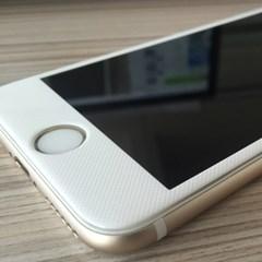(1+1) [아이폰6/6+,6S/6S+,7/7+] 카본 3D 곡면 풀커버 강화유리
