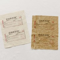 S/ 1컷] Vintage post oil washing cut _CHASIN(2도)