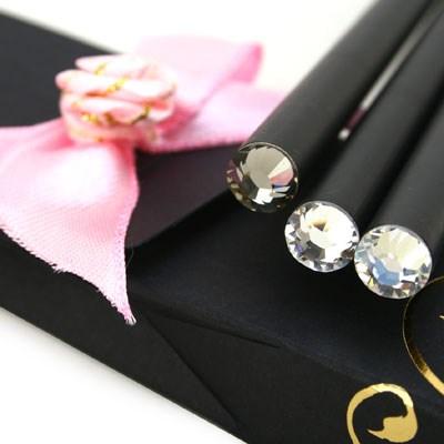 크리스탈 탄생석 연필 4월 다이아몬드(3p)