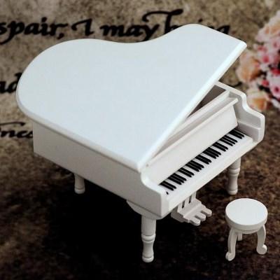 원목 클래식 그랜드 피아노 오르골