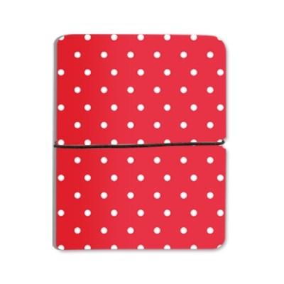 Pastel Dot - Red For Cardwallet