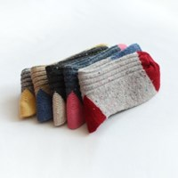 [1+1] point wool socks