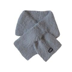 short rosy muffler (gray)