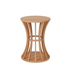 Birdcage Teatable / Oak