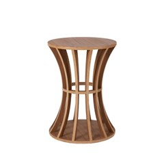 Birdcage Teatable / Walnut
