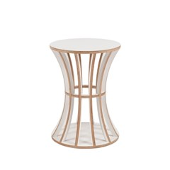 Birdcage Teatable / White