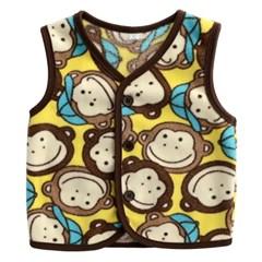 한국생산 원숭이 친구들 수면조끼(5-11호) 202962_(902088024)
