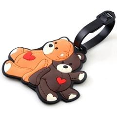인트래블 네임텍 곰 NO.1037