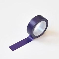 왈가닥스 솔리드 마스킹테이프 - 18 Violet