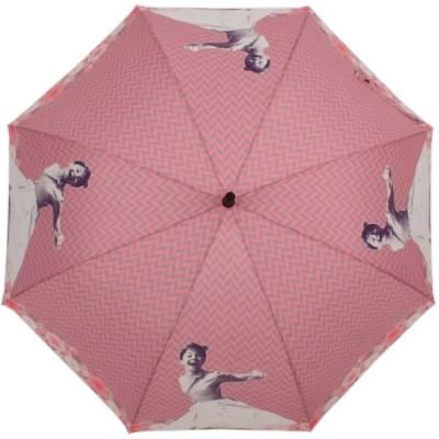 스마일 햅번 핑크 자동장우산