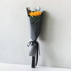 블라썸 해바라기 꽃다발 (그레이포장)