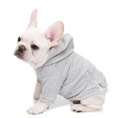 vintage hoodie - grey