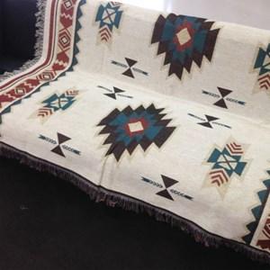 북유럽 kilim킬림 에스닉 양면 블랑캣 blanket 2size
