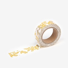Masking Tape single - 46 Little bamboo : gold