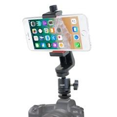 본젠 VD-1326 카메라 핫슈 마운트 + VCM-553G 스마트폰 거치대 SET