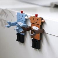레드로 우드 로봇 마그넷